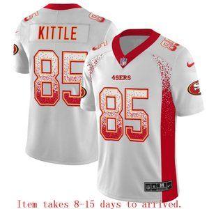 San Francisco 49ers George Kittle Drift Jersey